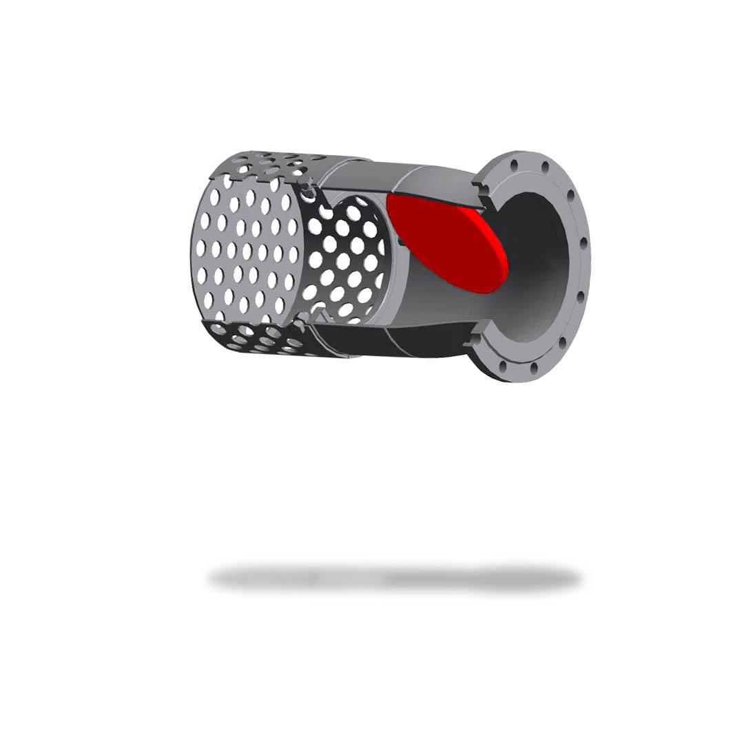 Клапан приемный 16с42нж